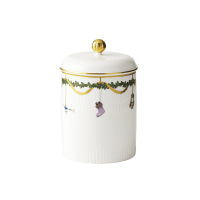 Jar with lid 16cm