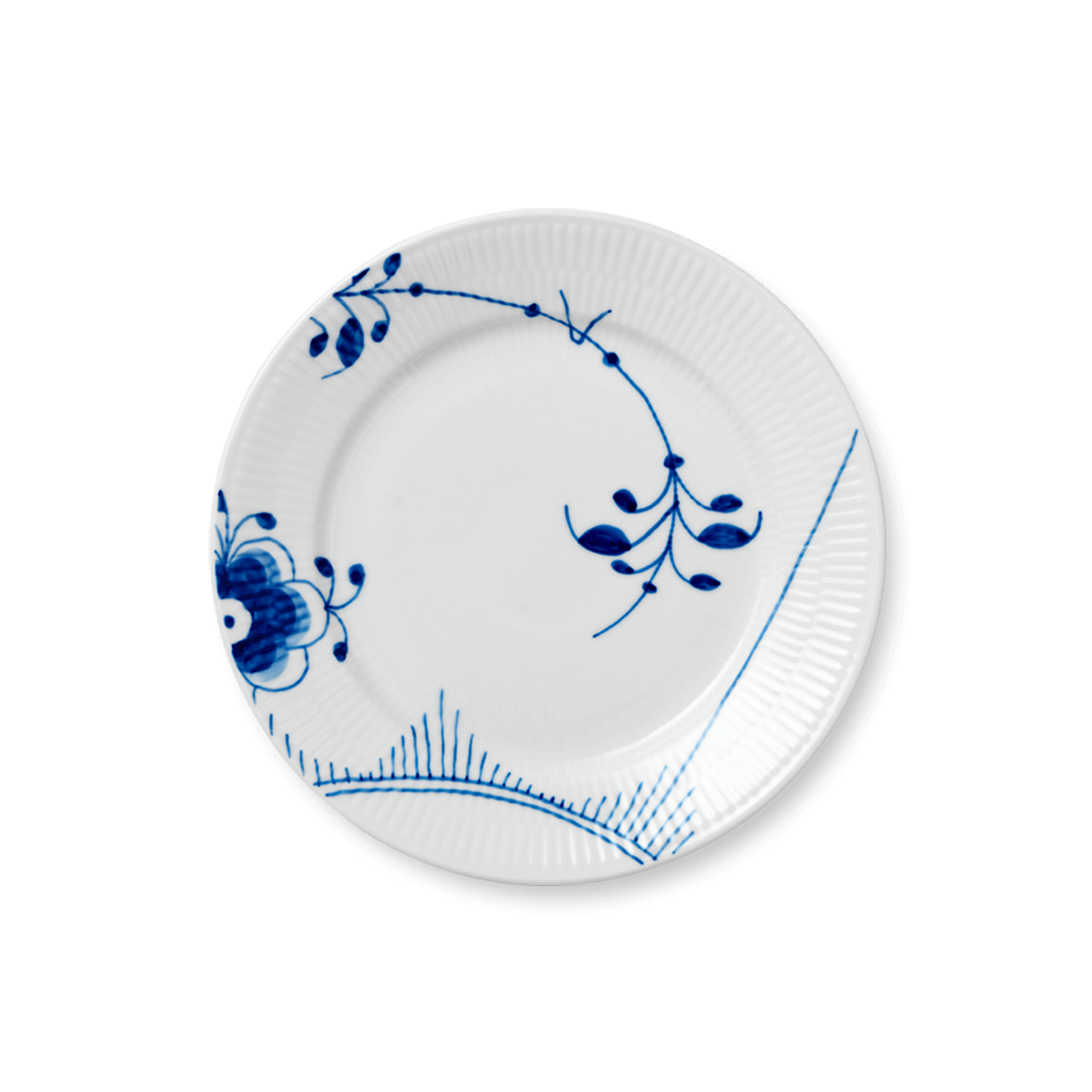 industry blue fluted plates - HD1500×1500